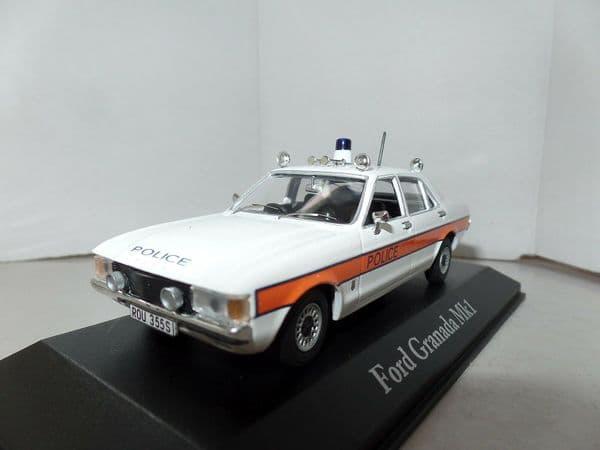 Atlas JA13 1/43 O Scale British Police Ford Granada I Avon Somerset Force